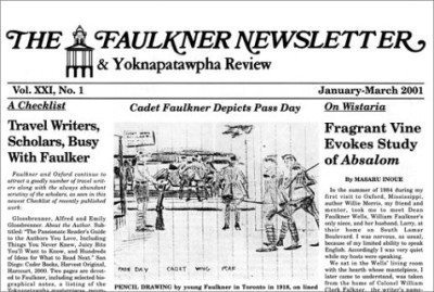 Faulkner Newsletter – Collected Issues